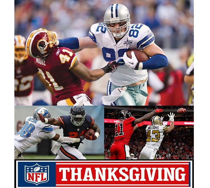 cowboys vs redskins nfl thanksgiving 2018